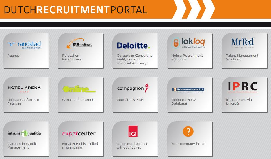 www.dutchrecruitmentportal.com Afgelopen donderdag 26 november is tijdens het 3rd Recruitment Industry Dance Event www.dutchrecruitmentportal.com gelanceerd. Waarom dit nieuwe recruitment initiatief? Hieronder een korte toelichting.