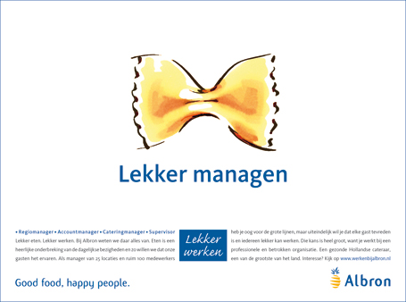Albron is een van de grootste cateraars van Nederland. Je vindt Albron bij bedrijven, overheden, op scholen en universiteiten, in zorginstellingen en op feesten en partijen. Medewerkers van Albron serveren honderdduizenden mensen dagelijks een heerlijke lunch, een kopje koffie of een compleet diner. Om deze medewerkers te werven, ontwikkelde TMP […]
