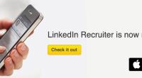 Bijna een op de drie vacatures op Linkedin wordt via mobiel bekeken. Daarom introduceert LinkedIn vandaag een iPhone app speciaal voor recruiters: Recruiter Mobile. De app geeft recruiters de kans om als eerste mobiel te zoeken naar hét relevante talent tussen de 238 miljoen gebruikers die op het netwerk aanwezig […]