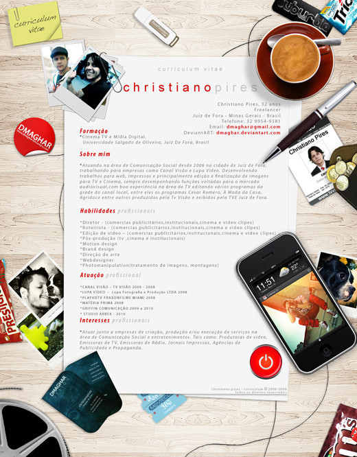 layouts for resumes