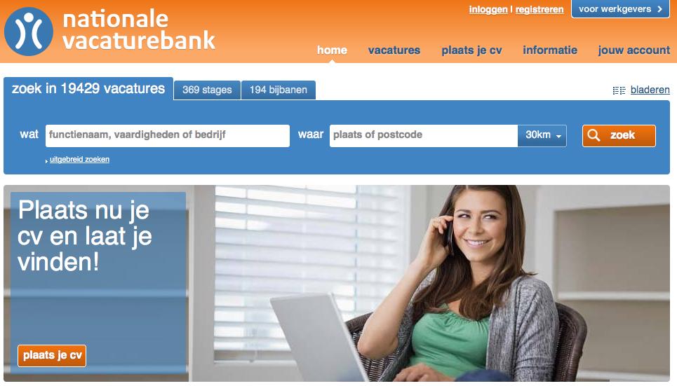 Als je bekend bent met NationaleVacaturebank dan zul je ongetwijfeld zien dat er nogal wat zaken zijn vernieuwd. Allereerst heeft de website een nieuw design en logo gekregen: