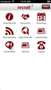 Recruit2 app