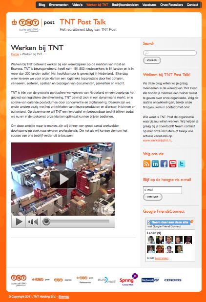 Uit onderzoek van Campaign Group onder de top 100 favoriete werkgevers van Nederland blijkt dat maar één bedrijf social media heeft opgenomen in de vacaturetekst. Campaign Group heeft in het kader van de Vacaturetestdagen 2011 een onderzoek uitgevoerd onder de top 100 favoriete werkgevers van Nederland. In dit onderzoek is […]