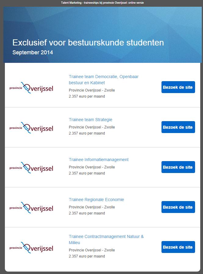 email vacature service bestuurskunde sept 2014 prov overijssel