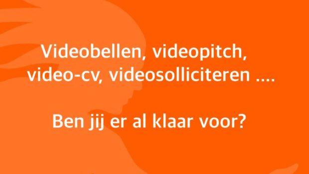 Steeds meer werkgevers kiezen voor een virtueel en online sollicitatieproces; videobellen, videopitch, video-cv en videosolliciteren hebben definitief hun intrede gedaan.